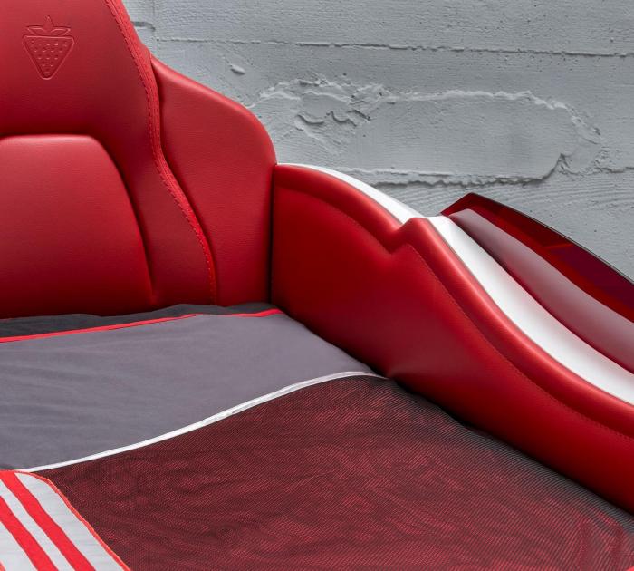 Pat masina GTS-alba, colectia Champion Racer 99x191 cm [4]