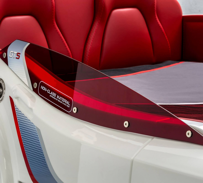Pat masina GTS-alba, colectia Champion Racer 99x191 cm [3]