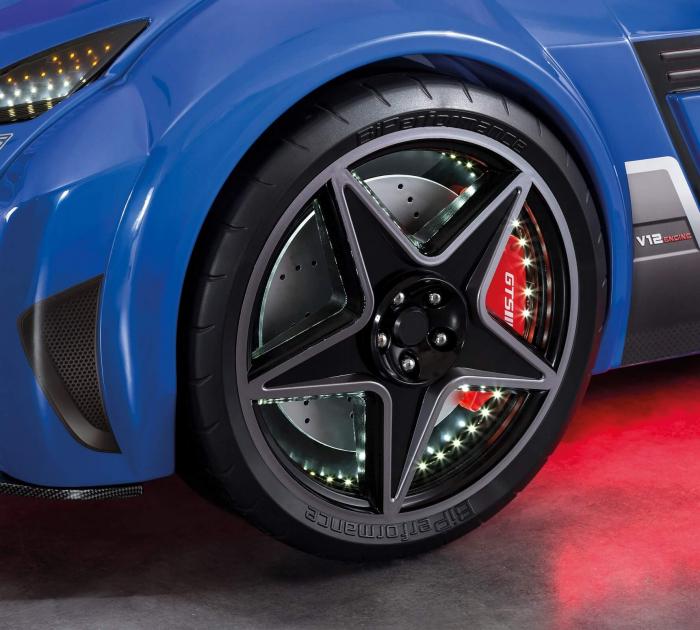 Pat masina GTS-bleu, colectia Champion Racer 99x191 cm [3]