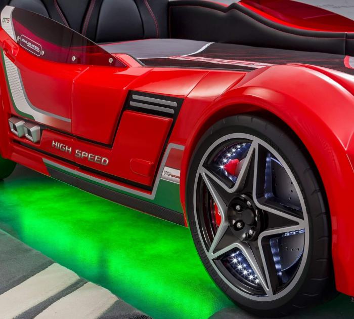 Pat masina GTS-rosu, colectia Champion Racer [3]