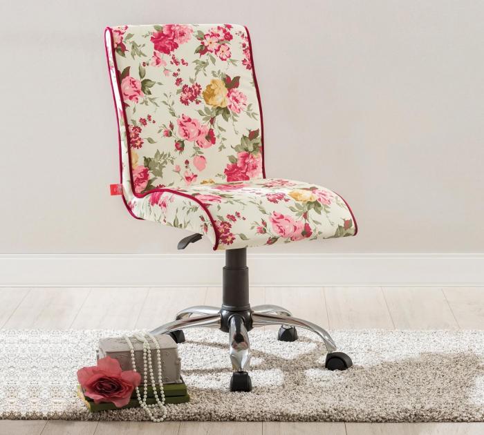 Scaun de birou pentru copii Floral Soft   Livrare gratuita Chisinau [1]