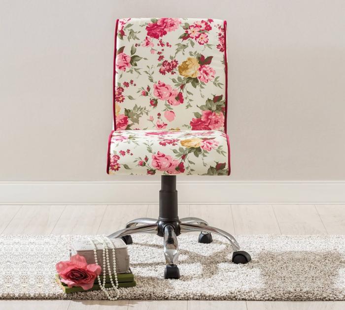 Scaun de birou pentru copii Floral Soft   Livrare gratuita Chisinau [2]