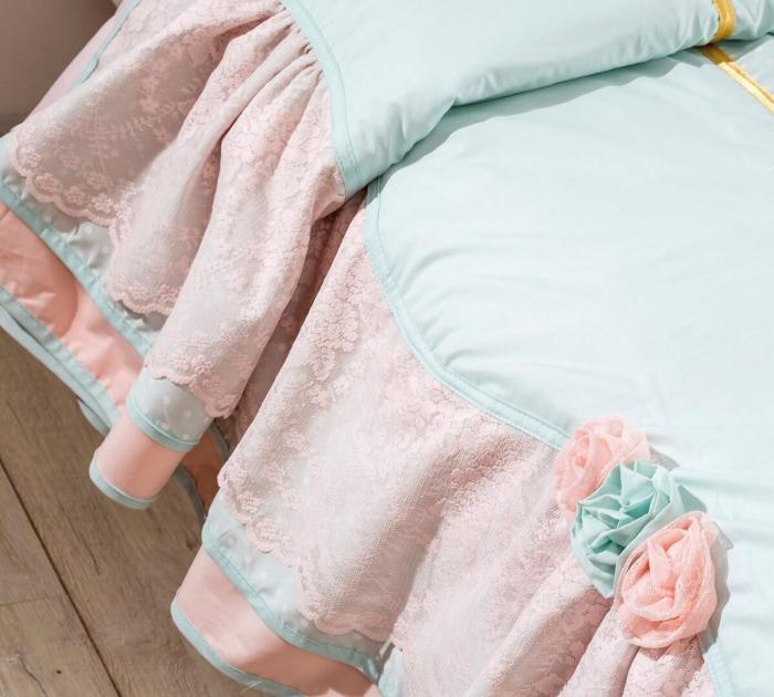 Set pentru pat copii, Colectia Paradise 120-140 cm [2]