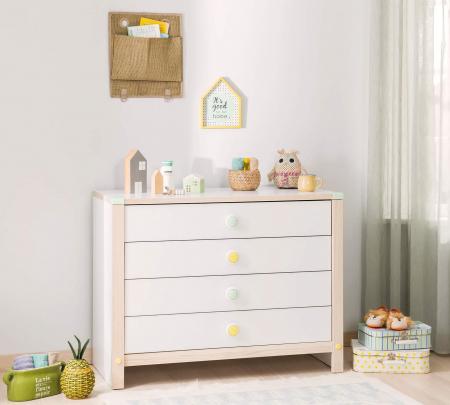 Comoda cu 4 sertare pentru copii, Colectia Montessori [1]