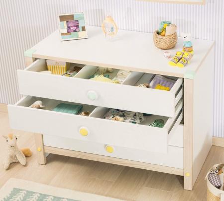 Comoda cu 4 sertare pentru copii, Colectia Montessori [2]