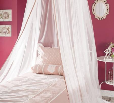 Baldachin pentru pat copii, colectia Rosa [3]