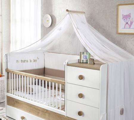Baldachin pentru pat copii, colectia Natura Baby [0]