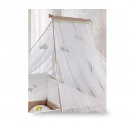 Baldachin pentru pat copii, colectia Natura Baby [2]