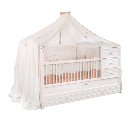 Baldachin pentru pat copii, colectia Romantic Baby [0]