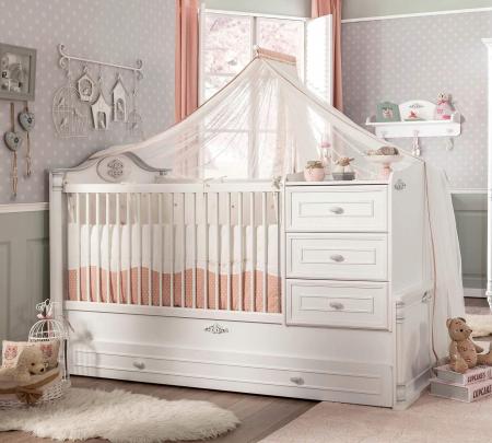 Baldachin pentru pat copii, colectia Romantic Baby [2]