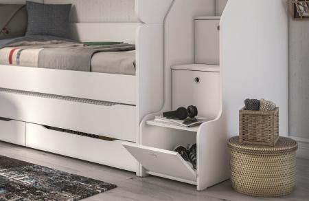 Scara pentru pat etajat Studio White [1]
