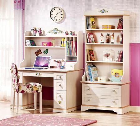 Biblioteca cu 2 usi, pentru copii si tineret Colectia Royal, 75x39x182 cm [1]