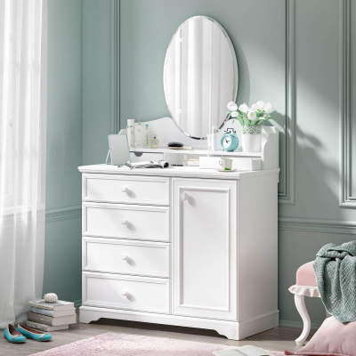 Comoda pentru camera fetelor Colectia Rustic White [1]