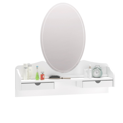 Oglinda pentru comoda Colectia Rustic White [0]