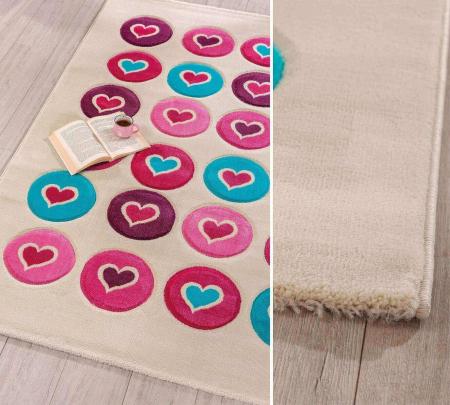 Covor camera copii Love Carpet 133x190 Cm [1]