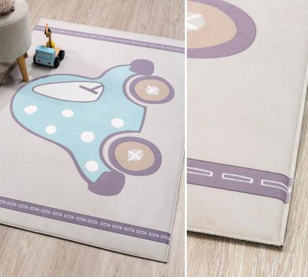 Covor pentru camera copiiSoft Cars Carpet 100x150 cm [1]