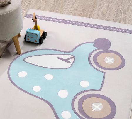 Covor pentru camera copiiSoft Cars Carpet 100x150 cm [2]