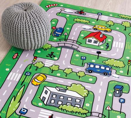 Covor camera copii Soft Traffic Carpet [3]