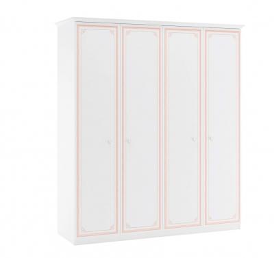 Dulap cu 4 usi pentru camera fetelor, Colectia Selena Pink [0]