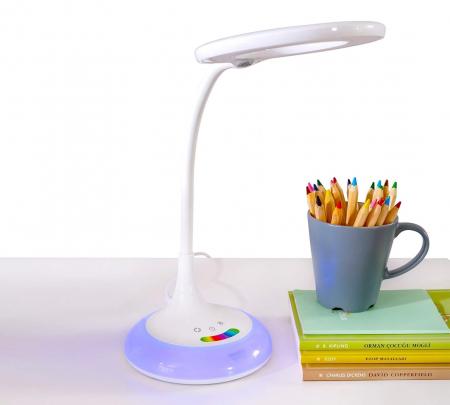 Lampa de birou pentru copii Rainbow White [2]
