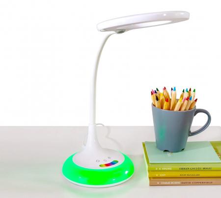 Lampa de birou pentru copii Rainbow White [3]
