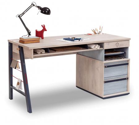 Masa birou camera copii, Colectia Trio 141x64x76 cm [0]