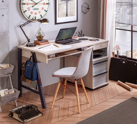 Masa birou camera copii, Colectia Trio 141x64x76 cm [1]