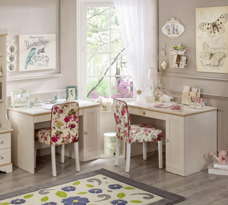 Masa de birou, pentru copii si tineret Colectia Flower [1]