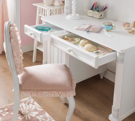 Masa de birou, pentru copii si tineret Colectia Romantic, 117x62x75 cm [3]