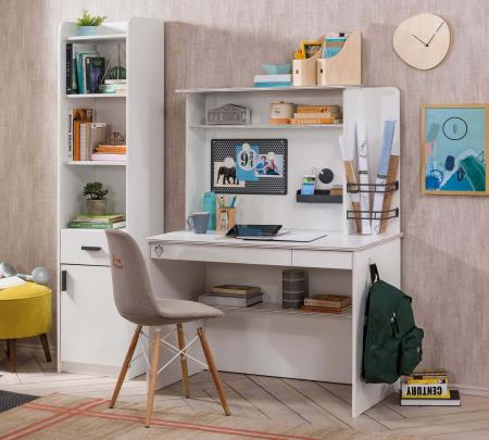Masa de birou, pentru copii si tineret Colectia White [1]