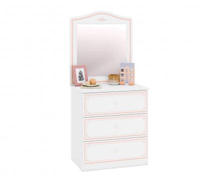 Oglinda pentru comoda Colectia Selena Pink [1]