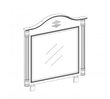 Oglinda pentru camera copii si adolescenti Colectia Romantic [2]
