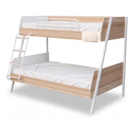 Pat etajat pentru copii, Colectia Duo  (90x 200-120x200 cm) [0]