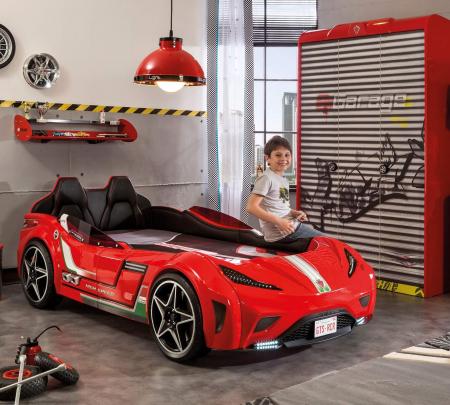 Pat masina GTS-rosu, colectia Champion Racer [2]
