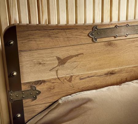 Pat pentru camera baieti, Colectia Pirate 100x200 cm [1]