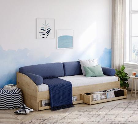Sertar pentru pat  camera copii Daybed Stejar [2]