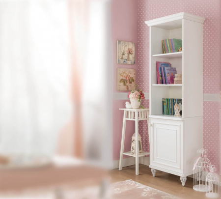 Rafturi pentru carti, camera copii si adolescenti, Colectia Romantica 51x42x185 cm [1]