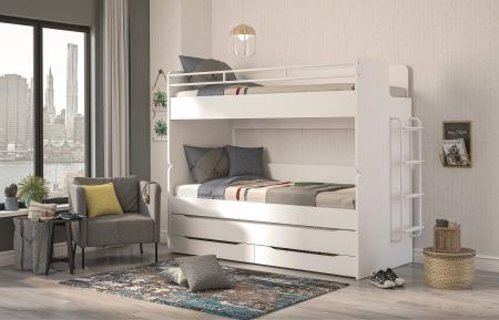 Scara de metal pentru pat etajat Studio White [1]