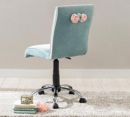 Scaun de birou pentru copii Blue Soft | Livrare gratuita Chisinau [1]