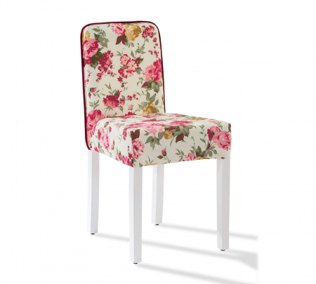Scaun pentru copii, tapitat cu stofa cu picioare din lemn Summer Chair With Flower [0]