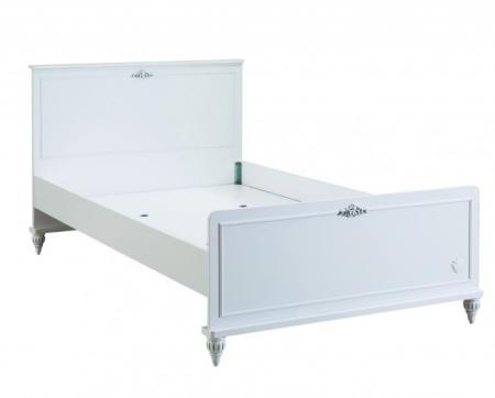 Set din pat 100x200 cm, dulap si comoda+oglinda Colectia Romantica [4]