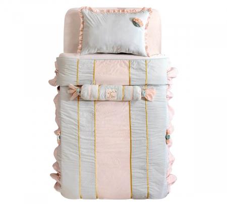 Set pentru pat copii, Colectia Paradise 120-140 cm [0]