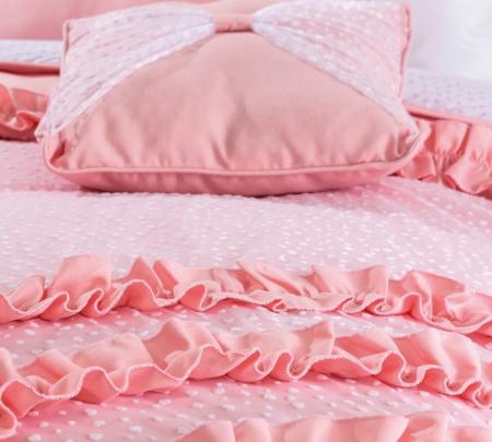 Set pentru pat copii, Colectia Rosa 120-140 cm [3]