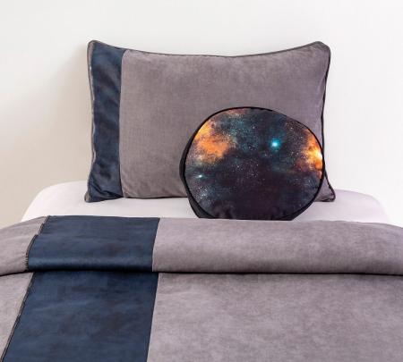 Set pentru pat copii, Colectia Dark 100x120 cm [1]