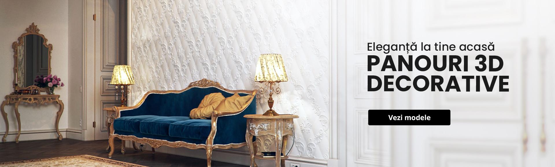 Panouri 3d decorative
