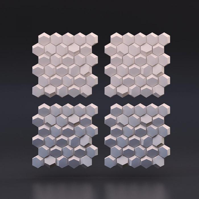 Panou decorativ 3d - Dekor 01 [1]