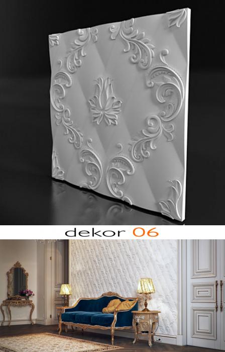 Panou decorativ 3d - Dekor 06 [3]