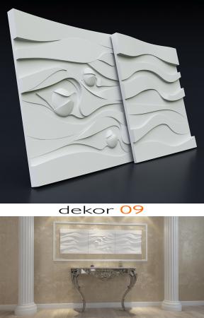 Panou decorativ 3d - Dekor 09 [2]