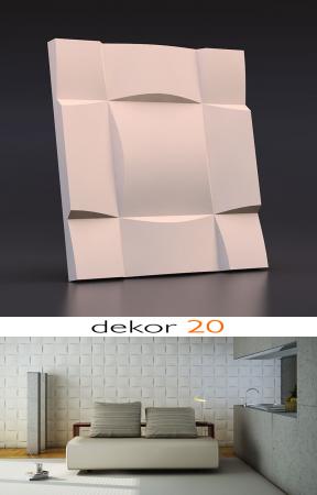 Panou decorativ 3d - Dekor 20 [4]