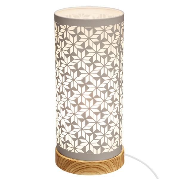 Veioza cu touch, design modern, aspect floral [0]